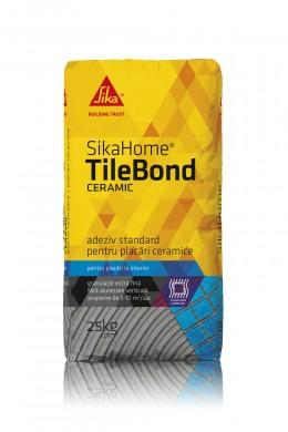 Adeziv pentru placari ceramice  la interior - SIKAHOME® TILEBOND CERAMIC - Adezivi pentru finisarea si amenajarea casei