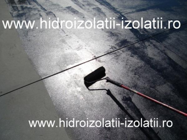 Amorsare suprafata hidroizolata - Hidroizolatia locuintei