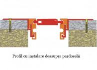 Profil cu instalare deasupra pardoselii - Profile de dilatatie pentru pardoseli
