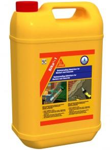 Sika®-1 - Aditiv de impermeabilizare pentru mortare - Aditivi pentru mortare