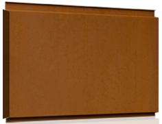 Liberta Cor-Ten 600 - Panourile casetate de fatada