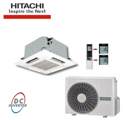 Aer conditionat tip caseta inverter HITACHI 9000 BTU/H - Aparate de climatizare, accesorii Hitachi