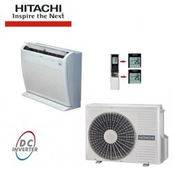 Aer conditionat pardoseala inverter HITACHI 12000 BTU/H - Aparate de climatizare, accesorii Hitachi