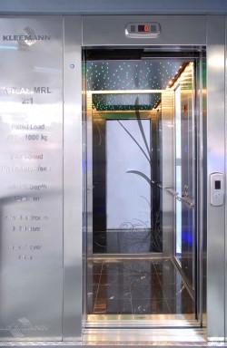 Lift electric fara camera masini - ATLAS - Ascensoare de persoane - KLEEMANN