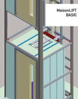 Lift hidraulic de persoane cu dizabilitati  pentru locuinte - Maison BASIC - Ascensoare de persoane - KLEEMANN