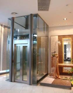 Lift hidraulic cu dimensiuni flexibile - Flexy - Ascensoare de persoane - KLEEMANN