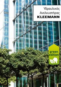 Lift hidraulic KLEEMAN Green Edition - Ascensoare de persoane - KLEEMANN