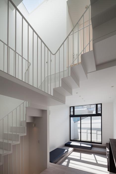 Casa neagra din Tokyo - Casa neagra din Tokyo - scara