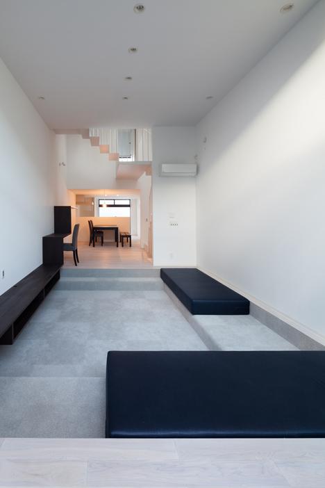 Casa neagra din Tokyo - Casa neagra din Tokyo - parter