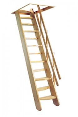 Scara din lemn Osaka - Gama de scari Spatii Reduse
