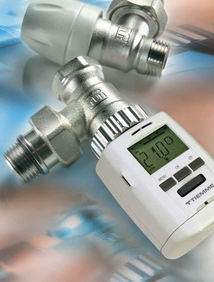 Robineti calorifer - Tiemme Systems - Gama de produse TIEMME SYSTEMS