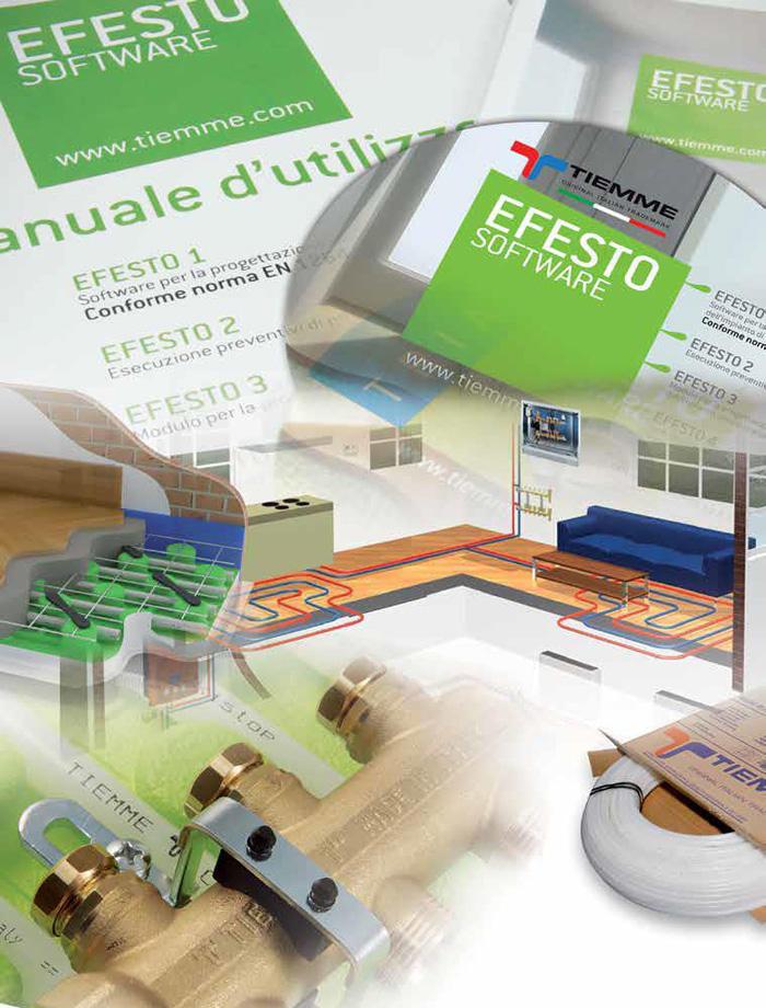 Incalzire in pardoseala - Tiemme Systems - Gama de produse TIEMME SYSTEMS 1