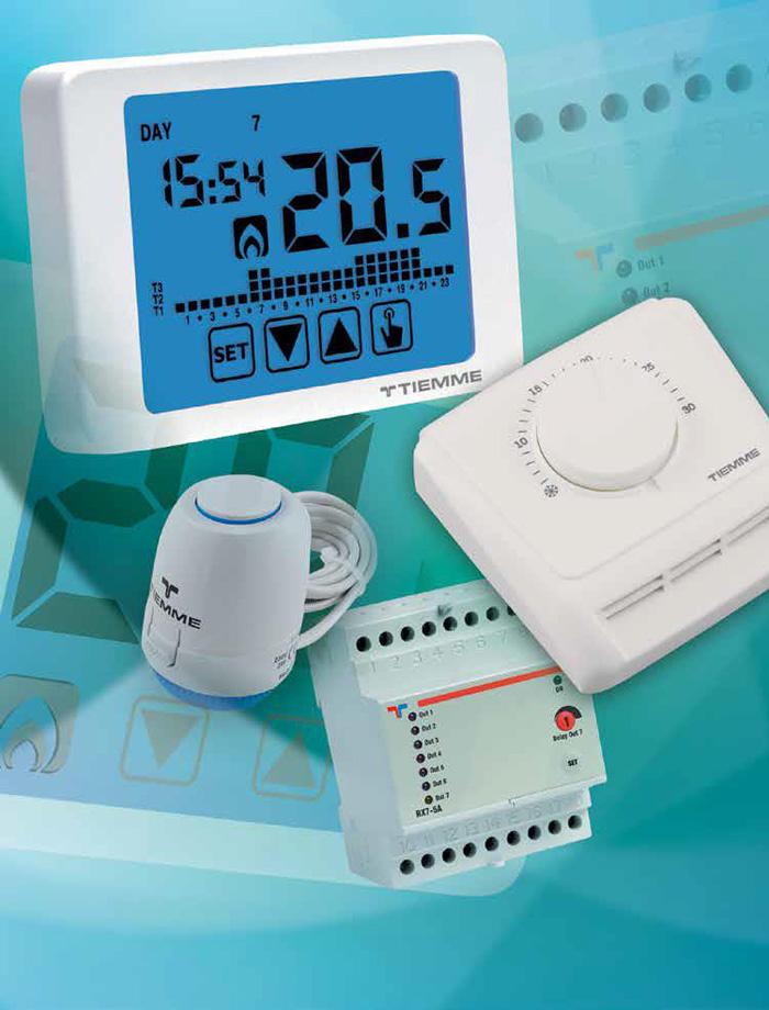 Produse pentru termoreglare - Tiemme Systems - Gama de produse TIEMME SYSTEMS 1