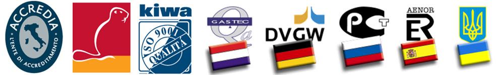Certificarile Tiemme Systems - Sistemul de management al calitatii - Tiemme Raccorderie