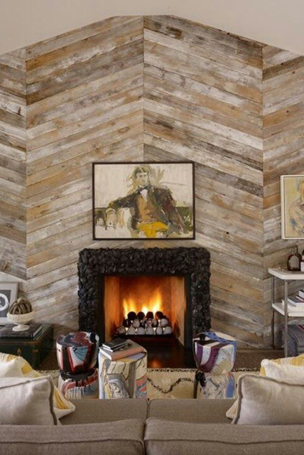 Seminee evidentiate cu ajutorul panotajelor din lemn  - Seminee evidentiate cu ajutorul panotajelor din lemn