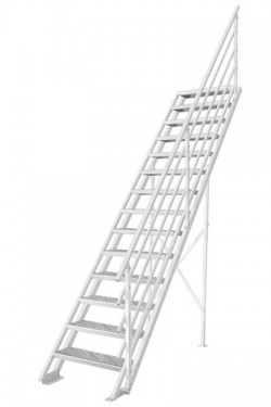 Scara pe structura metalica Atlantis - Gama de scari CONTEMPORANE