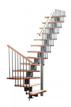 Scara pe structura metalica Eureka - Gama de scari CONTEMPORANE