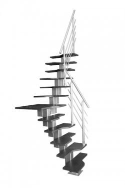 Scara pe structura metalica Phoenix  - Gama de scari SPATII REDUSE