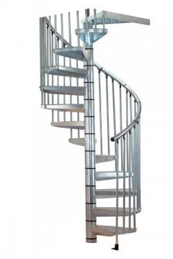 Scara pe structura metalica Othello - Gama de scari SPIRALE