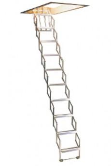 Scara pe structura metalica Easyalu - Gama de scari ESCAMOTABILE