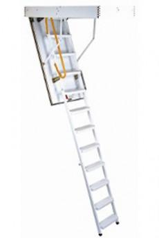 Scara pe structura metalica Ecosteel - Gama de scari ESCAMOTABILE