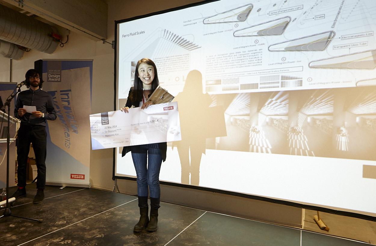 Hyunjeong Kim castiga prima editie a concursului VELUX International Design Award - VELUX International Design Award