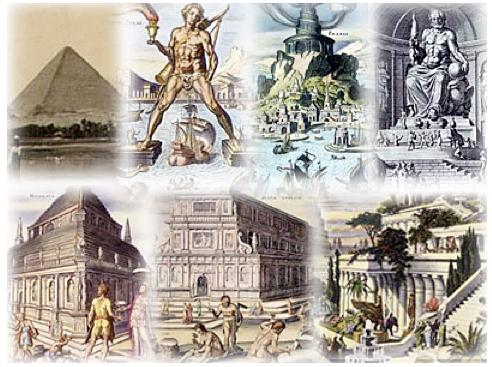 Cele Sapte Minuni Ale Lumii Antice Ilustratie Tourismforumwordpress