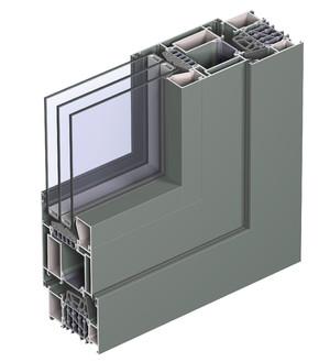 Profile din aluminiu pentru ferestre CS 86-HI - Profile din aluminiu pentru ferestre CS 86-HI