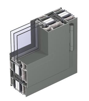 Profile din aluminiu pentru ferestre CS 104  - Profile din aluminiu pentru ferestre CS 104