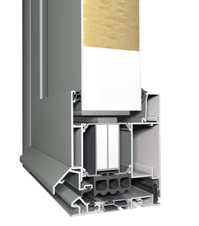 Profile din aluminiu pentru usi CS 104 - Profile din aluminiu pentru usi CS 104