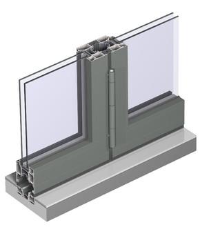 Profile din aluminiu pentru usi glisante CF 77 - Profile din aluminiu pentru usi glisante CF 77