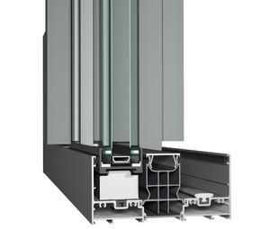 Profile din aluminiu pentru usi glisante Hi-Finity  - Profile din aluminiu pentru usi glisante Hi-Finity