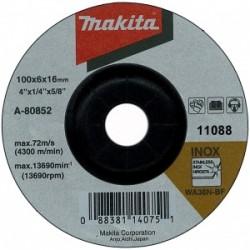 10 DISCURI SLEFUIRE INOX 125X6 - Polizoare unghiulare