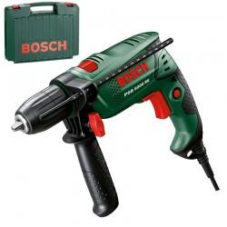 Masina de gaurit cu percutie 550 W + Geanta Bosch Verde PSB 5000 RE - Masini de gaurit