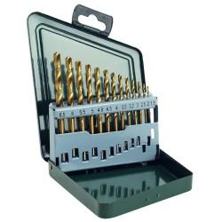 CASETA 13 BURGHIE MET HSS-TIN 1-6.5 mm - Masini de gaurit