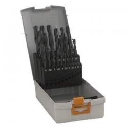 Caseta 25 burghie metal HSS-R 1-13 mm - Masini de gaurit