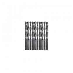 10 BURGHIE METAL HSS-R 4,0x43x75 - Masini de gaurit