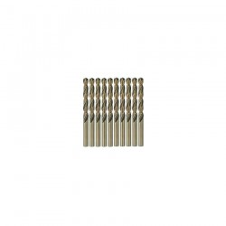 10 BURGHIE METAL HSS-CO 4,0x43x75MM - Masini de gaurit