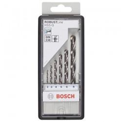 BOSCH Professional CASETA 6 BURGHIE METAL HSS-G ROBUST LINE - Masini de gaurit