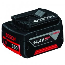 Acumulator 14,4 V; 4 Ah, Li-Ion BOSCH Professional Acumulator Li-Ion, 14.4 V, 4 Ah - Ferastraie verticale