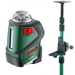 Nivela laser autonivelanta cu linii la 360° + Tija telescopica Bosch Verde PLL 360 + TP 320 - Nivele cu laser