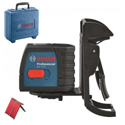 Nivela laser cu linii (15 m) + Suport multifunctional + Geanta  BOSCH Professional GLL 2-15 + BM 3 - Nivele cu laser