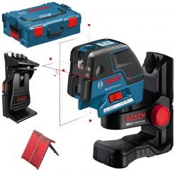 Nivela laser puncte-linii + BM 1 Suport special + L-BOXX BOSCH Professional GCL 25 + BM 1 + L-BOXX - Nivele cu laser