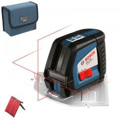 Nivela laser cu linii + Placa aliniere (20 m) BOSCH Professional GLL 2-50 - Nivele cu laser