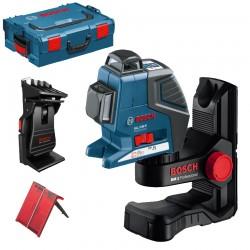 Nivela laser cu linii + BM1 Suport + L-BOXX  BOSCH Professional GLL 2-80 P + BM 1 + L-BOXX - Nivele cu laser