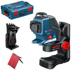Nivela laser cu linii + BM1 Suport + L-BOXX BOSCH Professional GLL 3-80 P + BM 1 + L-BOXX - Nivele cu laser