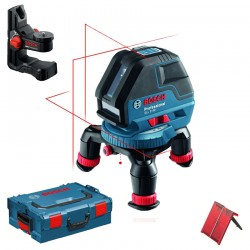 Nivela laser cu linii + BM 1 Suport + L-BOXX BOSCH Professional GLL 3-50 - Nivele cu laser