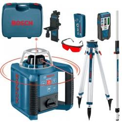 Nivela laser rotativa 300 M  BOSCH Professional GRL 300 HV + BT 160 + GR 500 - Nivele cu laser