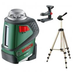 Nivela laser autonivelanta cu linii la 360° + Suport universal + Trepied HAMA Bosch Verde PLL 360 + HAMA - Nivele cu laser