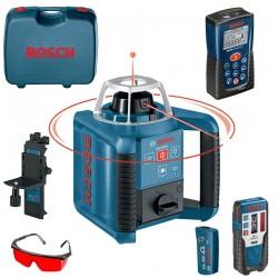 Professional Nivela laser rotativa + Telecomanda BOSCH Professional GRL 300 HV SET + DLE 40 - Nivele cu laser